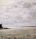 Sadee Phillip Lodewijk Zuiderzee near Hoorn Sun