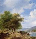 sande bakhuyzen van de h river landscape