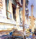 Sargent John Singer Doorway of a Venetian Palace