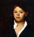 Sargent John Singer Head of an Italian Girl