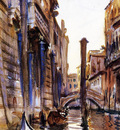 Sargent John Singer Side Canal in Venice