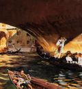 Sargent John Singer The Rialto Grand Canal