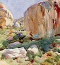 Sargent John Singer The Simplon Large Rocks