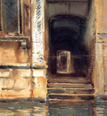 Sargent John Singer Venetian Doorway