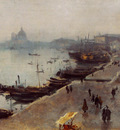 Sargent John Singer Venice in Gray Weather