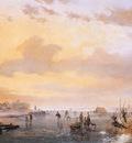 Schelfhout Andreas Ice merriment sunset 4 Sun