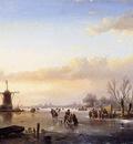 Schelfhout Andreas Merriment on ice 2 Sun