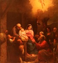 Sciavoni Natale La Visita De Pastori Al bambino Gesu Nel Presepio