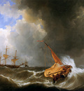 Schotel Johannes Christianus Stormy weather Sun