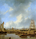 Schotel Petrus The Willemsluice at Amsterdam Sun