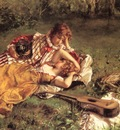 Serrure, Auguste The Picnic detail end
