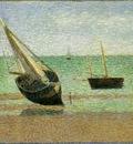 Seurat Boats, Low Tide, Grandcamp