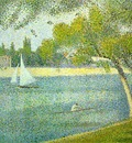 seurat the seine at le grande jatte,