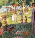 Sunday Afternoon on the Isle of Lan Grande Jatte, Seurat, S
