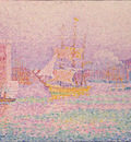 Signac The Harbour at Marseilles, 1907, Eremitaget