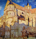 Sisley Alfred Church of Moret Sun