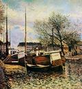 Sisley Alfred Fishing boat Sun