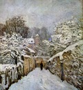 Sisley Alfred Snow in Louveciennes