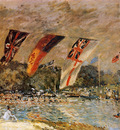 Sisley Alfred The regatta Sun