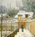 Sisley Snow at Louveciennes, 1874, 55 9x45 7 cm, Phillips Co