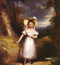 Smith Stephen Princess Victoria, Aged Nine, In A Landscape