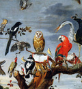 Snyders Frans Concert of birds Sun