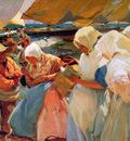 Sorolla y Bastida Joaquuin Fisher women at the beach Sun