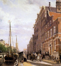 Springer Cornelis Voorburgwal in Amsterdam Sun