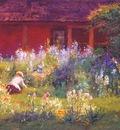 steele selma in the garden c1921