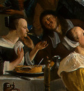 STEEN,J  THE DANCING COUPLE, DETALJ 3, 1663, NGW