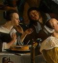 STEEN,J  THE DANCING COUPLE, DETALJ 3, 1663, NGW