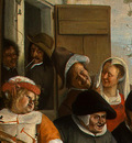 STEEN,J  THE DANCING COUPLE, DETALJ 5, 1663, NGW