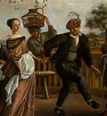 STEEN,J  THE DANCING COUPLE, DETALJ 9, 1663, NGW