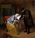 Steen Jan The sick woman Sun