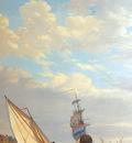 Strij van Abraham Sailing of the Dordrecht Sun