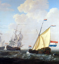 Strij van Jacob Yacht of VOC Sun