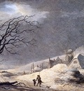Teerlink Abraham The snowstorm