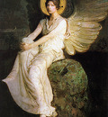 An0004 Winged Figure Seated Upon a Rock AbbottHandersonThayer sqs
