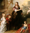 Thulden van Theodoor Josina Copes van Westrum and her childr
