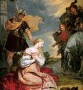 Thulden van Theodoor Marthyrship of the holy Barbara Sun
