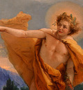 Tiepolo Apollo Pursuing Daphne, ca 1755 60, 68 5x87 cm, Deta