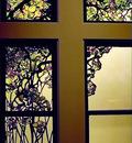 Tiffany Apple Blossom and Magnolia Window