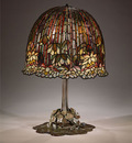 tiffany water lily table lamp 1904