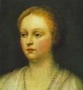 Tintoretto Portrait of a woman, 38x33 3 cm, Museum of Fine A