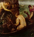Tintoretto The deliverance of Arsinoe, ca 1560, 153x251 cm,