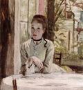 A Woman in an elegant Interior