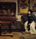 Tissot Marguerite in Church