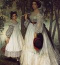 Tissot The Two Sisters; Portrait