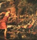 TIZIANO DEATH OF ACTAEON, NG LONDON