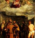 TIZIANO MADONNA OF FRARI, VATICAN GALLERY